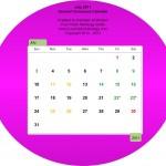 Printable calendar pdf download